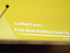 LuxReal Forum: from Smart Building to Smart City